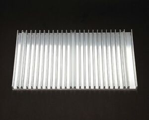 10pc Aluminum Heatsink Heat Sink 8716 Size 180x12mm Wxh L 100mm Color Natural
