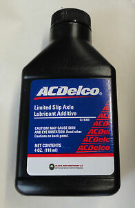 Gm 10 12 Bolt Posi Limited Slip Differential Fluid Additive Friction Modifier Oe