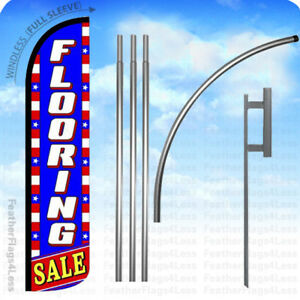 Flooring Sale Windless Swooper Flag 15 Kit Feather Banner Sign Bz