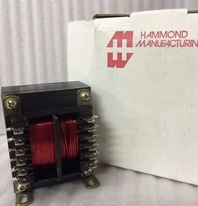 Hammond Manufacturing 185f24 Bobbins Power Transformer 4d