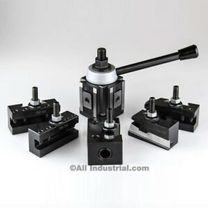 Ca Piston Tool Post Set Cnc High Precision Quick Change Lathe Holders 400 Series