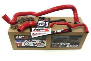 Hps Silicone Radiator Hose Kit W Clamps 99 06 Audi Tt red