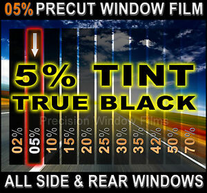 Precut All Sides Rears Window Film Black 5 Tint Shade For Toyota Car Glass