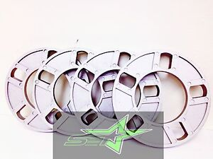 4pc 5 Lug 1 2 Inch Thick Wheel Spacers Fits All 5x4 5 5x4 75 5x120 5x114 3 Cars