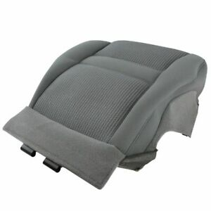 Oem 1dr711d5aa Seat Bottom Cushion Cover Gray Driver Left Lh For 06 Dodge Ram