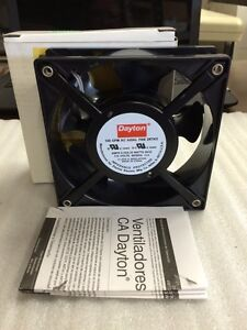 Dayton 2rtk5 Axial Fan 115vac 4 11 16in H 4 11 16in W 3q