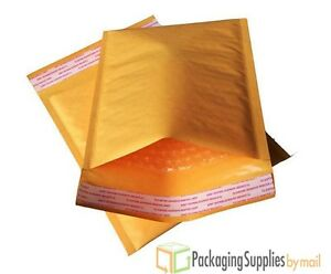 Kraft Bubble Mailers Self Seal Padded Envelopes 7 25x9 75 dvd 1800pcs 18 Case