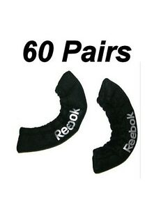 60 New Reebok ice hockey skate blade covers size junior Jr. black ACBCV guards