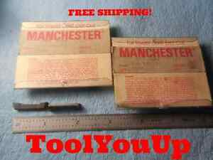 12 Pcs Manchester 508 186 50 Dog Bone Grooving Parting Carbide Inserts Tooling