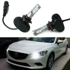 2 High Power Luxeon Led High Beam Daytime Running Light Kit For Mazda 3 6 Cx 5