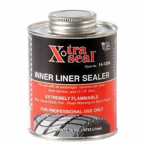 Xtra Seal Tire Patch Repair Inner Liner Sealer 16 Oz Professional Quality