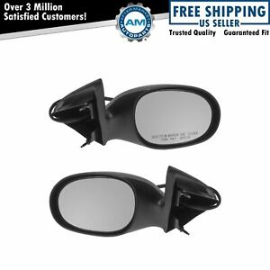 Power Side Mirrors Left Lh Right Rh Pair Set For 98 04 Dodge Concorde Intrepid