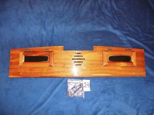98 03 Ford E150 Conversion Van Rear Overhead Woodgrain Trim Panel Quality Coach