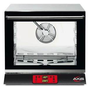 Axis Ax 513rhd Commercial 1 2 Half size Electric Convection Oven Digital Control