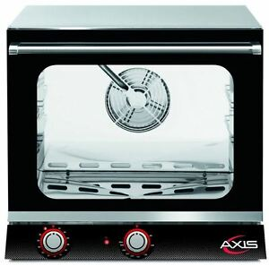 Axis Ax 514 Commercial 1 2 Half size Electric Convection Oven 4 shelf Version