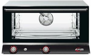 Axis Ax 813rh Commercial Full size Electric Convection Oven 3 shelf Humidity