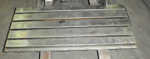 45 X 20 X 5 75 Steel Welding T slotted Table Cast Iron Layout Plate 4 Slots