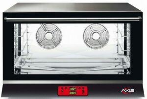 Axis Ax 824rhd Commercial Full size Electric Convection Oven Made In Italy New