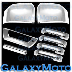 15 18 Ford F150 Chrome Mirror 4 Door Handle tailgate W lamp Cover Trim 2016 2017