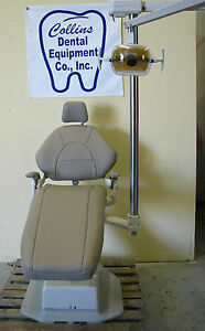 Adec Decade Dental Patient Chair W new Upholstery Adec 6300 Operatory Light