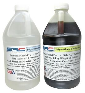 Model pro Plastic Casting Resin For Casting In Silicone Rubber Molds 1 Gallon
