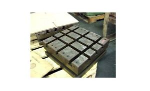 16 X 16 Sub Plate Fixture Grid Subplate Table T slots