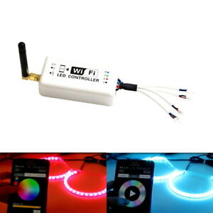 Wireless Wifi Rgb Led Remote For Android Ios Smart Phone For Car Rgb Led