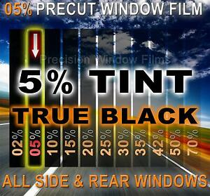 Precut Window Film 5 Vlt Limo Black Tint For Honda Accord 4dr Sedan 1998 2002