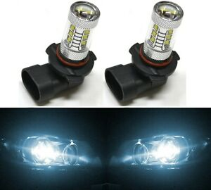 Led 80w 9006 Hb4 White 6000k Two Bulbs Head Light Low Beam Replacement Lamp