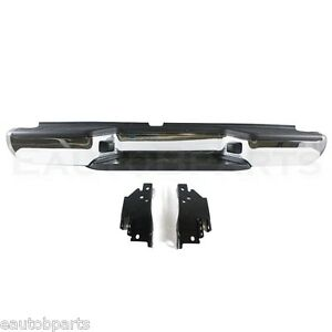 New Chrome Rear Step Bumper For Nissan Frontier Ni1103104 85010zp60a