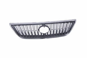 New Chrome Shell With Gray Insert Front Grille For Lexus Rx330 04 06 Rx350 07
