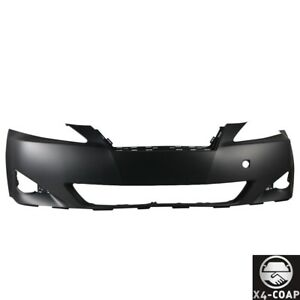 New Primed Black Front Bumper For Lexus Is350 Is250 5211953925