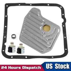 4l60e Transmission Shift A B Solenoid Service Kit Filter Gasket For 1998 Up Gm