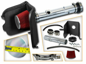 Bcp Red For 2005 11 Toyota Tacoma 4 0 V6 Cold Shield Air Intake Kit filter