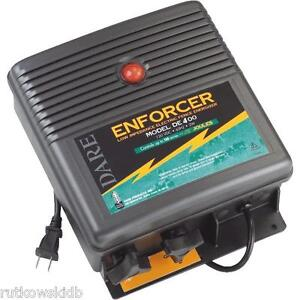 100 acre Dare Enforcer Electric Fence Charger Energizer