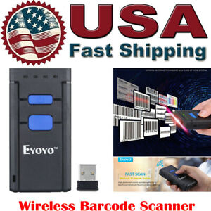 Mini Wireless Bluetooth Barcode Scanner Code Reader Apple Ios android windows