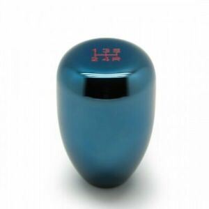 Blox Racing Limited 6 Speed Shift Knob 10x1 25mm Blue For Nissan Evo For Mitsubi