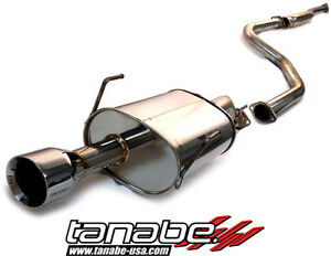 Tanabe Medalion Touring Exhaust System For Honda Civic Si Coupe 1996 2000