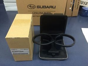 Genuine Subaru Oem 2003 2008 Forester Front Console Cup Holder 66150sa100nd Gray