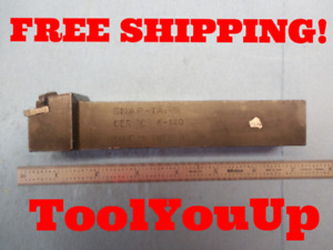 Snap Tap Cer 100 6 140 Lathe Thread Tool Holder 1 Shank Machine Shop Tooling