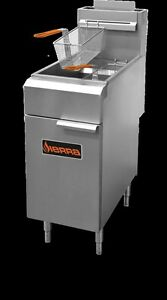 Sierra Srf 35 40 Commercial Restaurant 40 Lb Tube fired Floor Gas Deep Fryer New