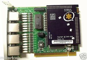 Digium Asterisk Te405p Quad T1 e1 Card W Vpmoct128 Echo Cancellation Elastix