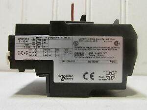 Schneider Electric Lrd1514 Thermal Overload Relay 7 10a