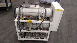 Ebara 2 Stage Vacuum Pump K37 K22 On Cart W Control Box
