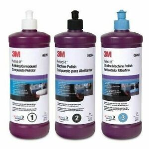 1pk 3m Perfect It Buffing Polishing Compound 06085 06064 06068