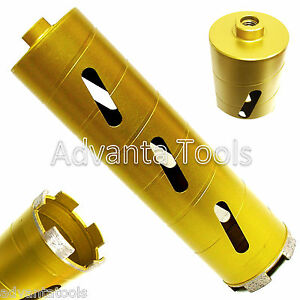 2 1 2 Dry Diamond Core Drill Bit For Soft Brick Concrete Block 5 8 11 Threads
