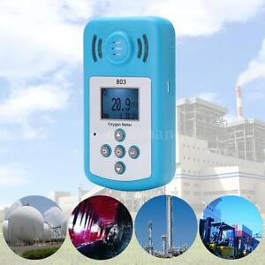 Kxl 803 Portable Oxygen Meter O2 Concentration Detector Lcd Display Nm D6u5