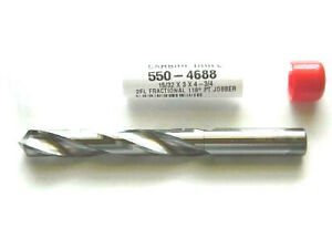 15 32 Solid Carbide Jobber Length Twist Drill Bit Usa 550 4688 D5