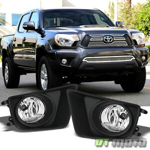 2012 2015 Toyota Tacoma Pickup Truck Bumper Fog Lights Lamps W Switch Left Right