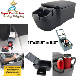 Contractor Console Business Organizer Cup Holder 1 Pack Car Automotive Interior